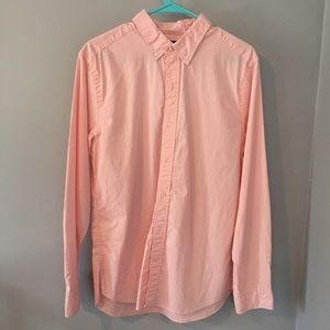 Gap Slim Fit Pink Button Down